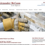 Alexander McCann Law Offices, Maine workers compensation