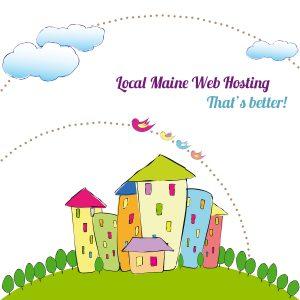 local maine web hosting