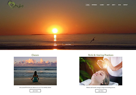 Yoga Studio Websites